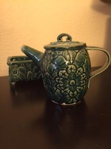 Ceramic Teapot and Box Set