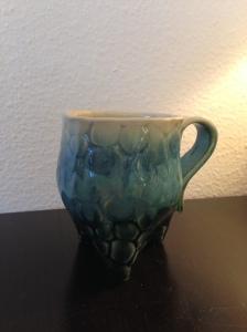 Ceramic Pebbled Mug